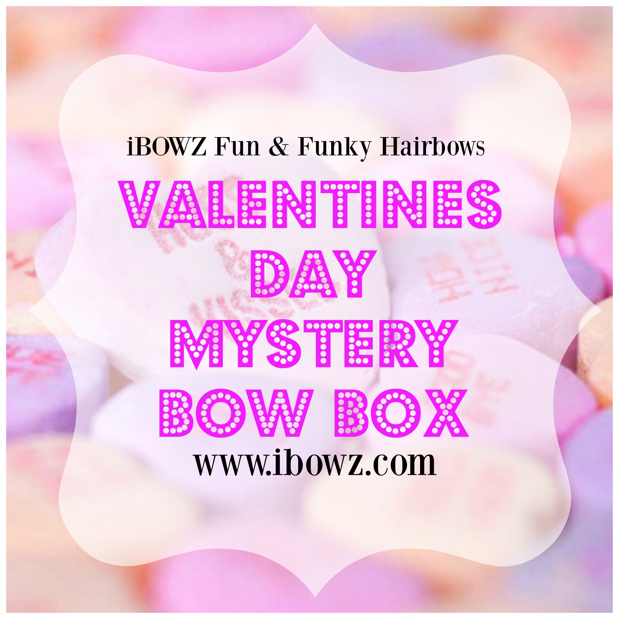 Valentines Day Mystery Surprise Bow Box | 1 All New Design | Perfect for Bow Girls