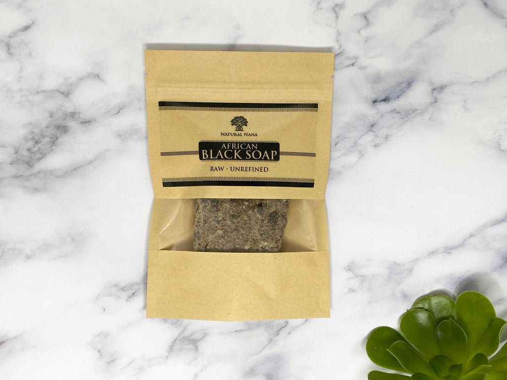 Raw Black Soap - African Holistics