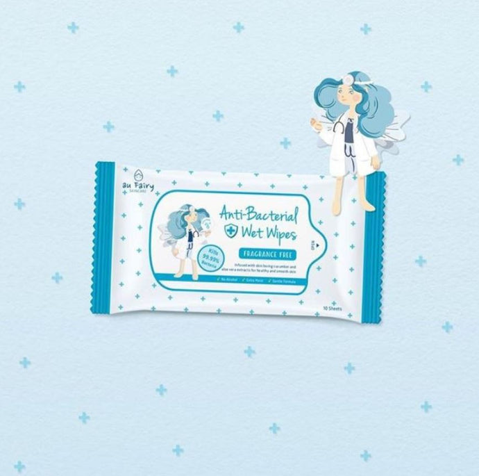Au Fairy Anti Bacterial Wet Wipes - Ethereal Gift