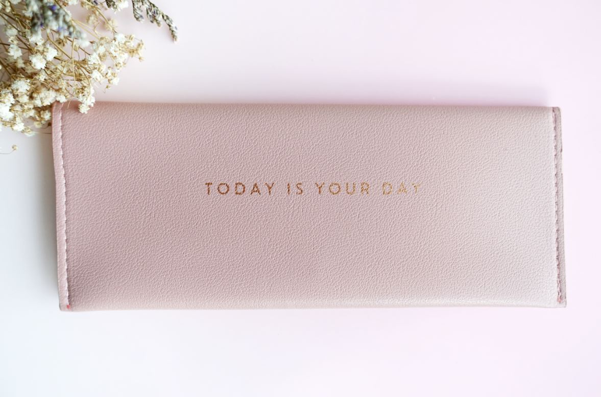 Today Is Your Day Pouch - Ethereal Gift