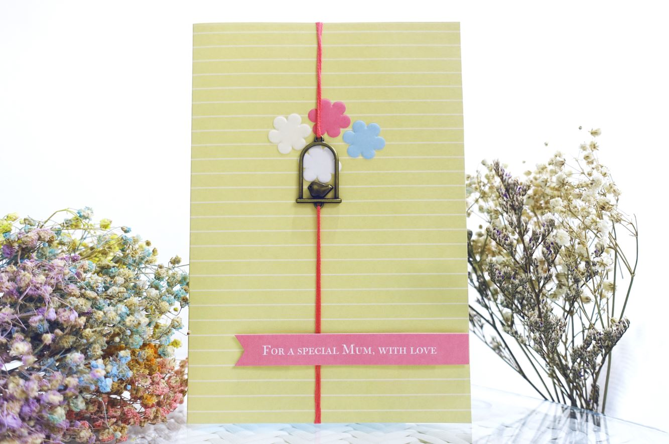 For A Special Mum, With Love Card - Ethereal Gift
