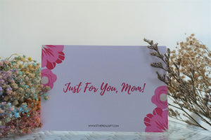 Just For You Mum Card - Ethereal Gift