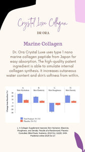 Crystal Luxe 6500mg Premium Collagen