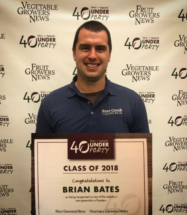 Brian Bates named Top 40 Under 40
