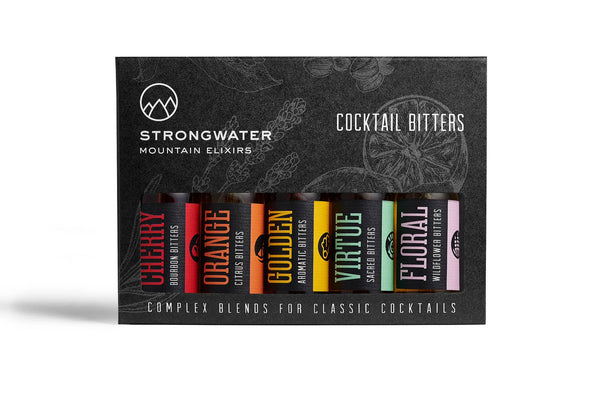 Cocktail Bitters Sample Set
