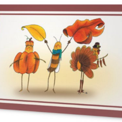 Honeybee Holiday Cards - Each