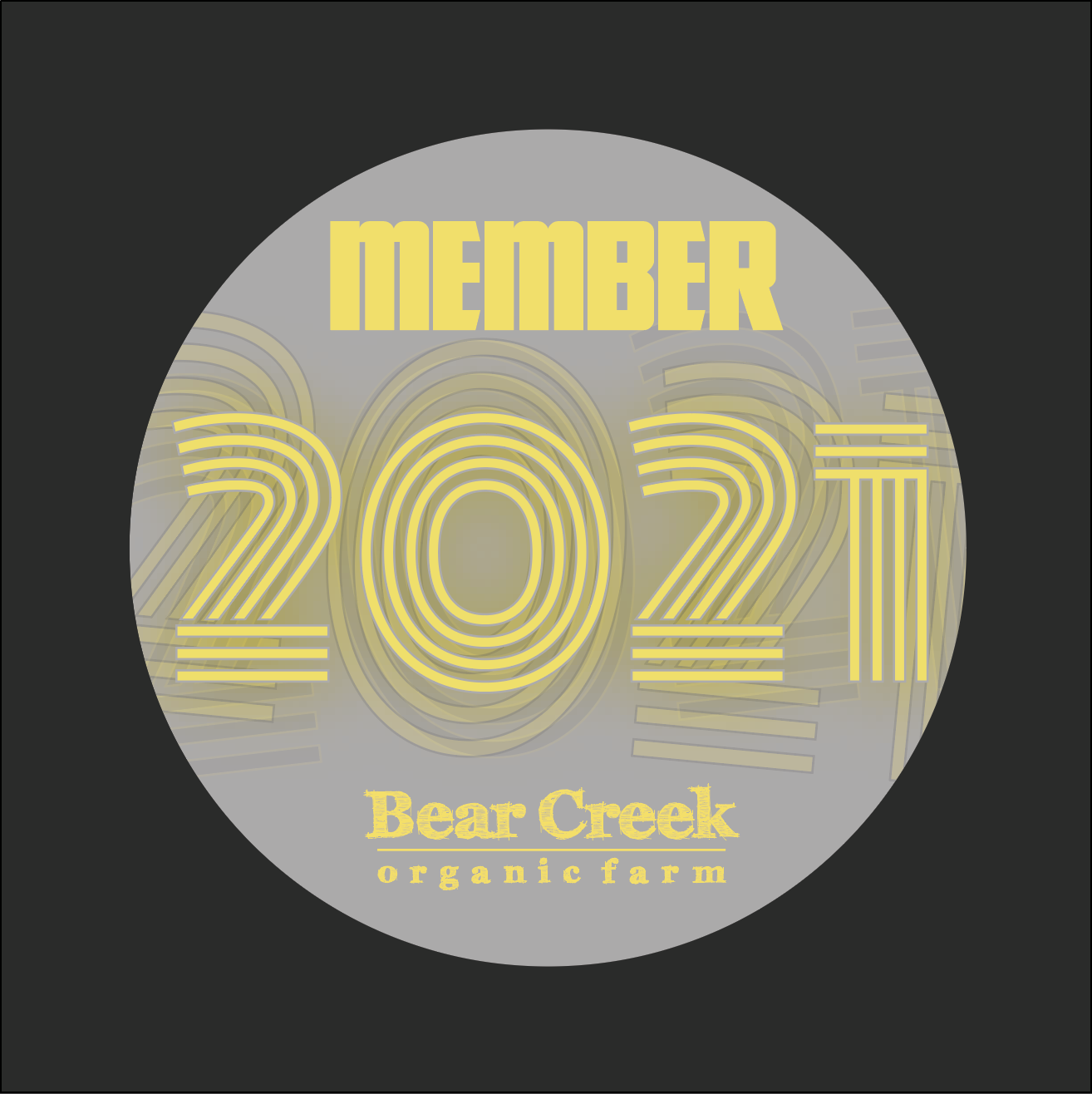 2021 Bear Creek Membership Program -