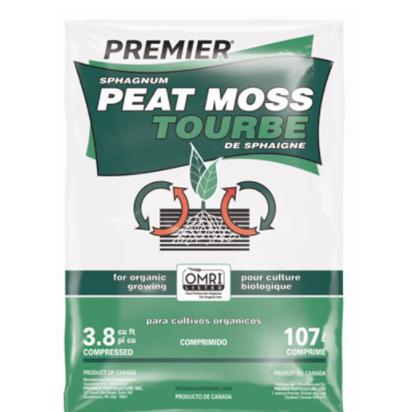 Peat Moss - 3.8 cu ft Compressed