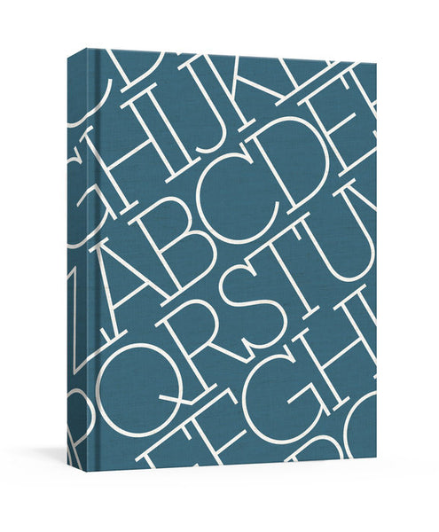 House Industries - Indigo Linen Journal