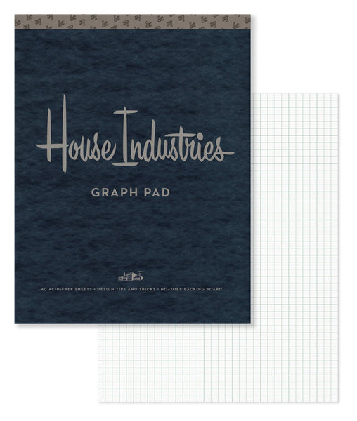 House Industries - Graph Pad