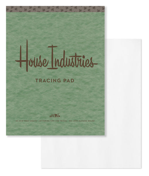 House Industries - Tracing Pad