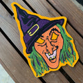 Witch Mask - Chainstitch patch