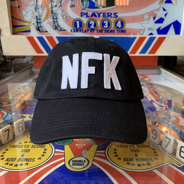 NFK Dad Hat - Black / White