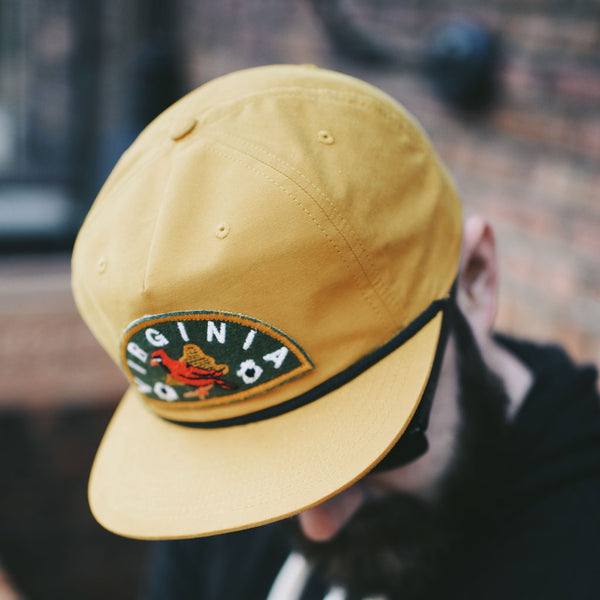Virginia Patch Hat - Mustard
