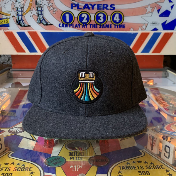 Print the Rainbow Wool Snapback - Hat