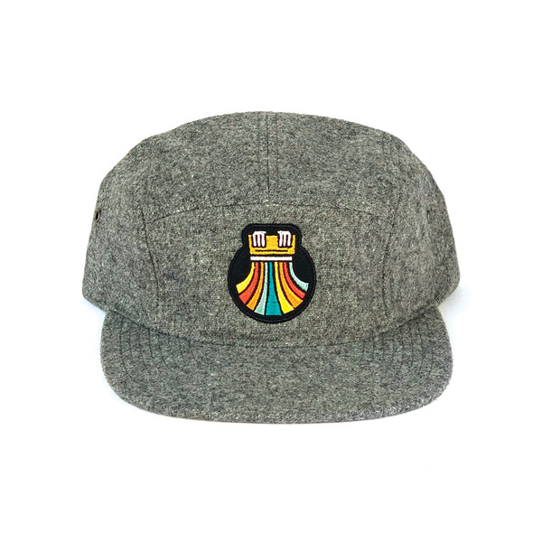 Print the Rainbow 5-Panel - Cap