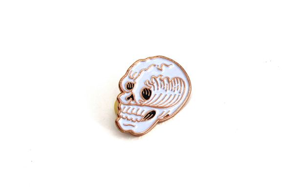 Surf or Death Enamel Pin