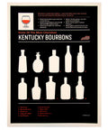 Kentucky Bourbons - Print