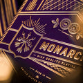 Monarch Playing Cards - Purple