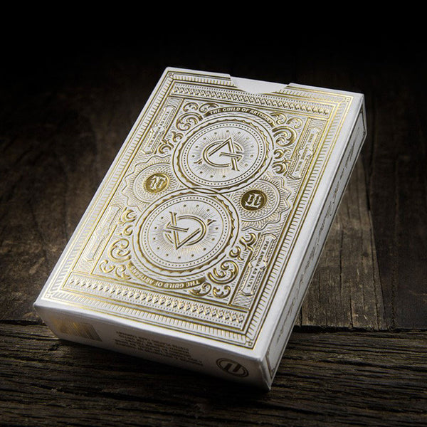 Artisan Playing Cards - White