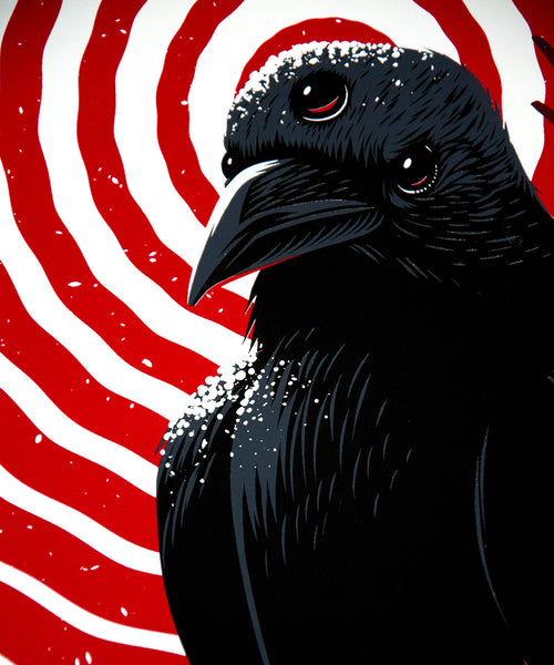 Ian Jepson - Winter is Coming Raven - Print