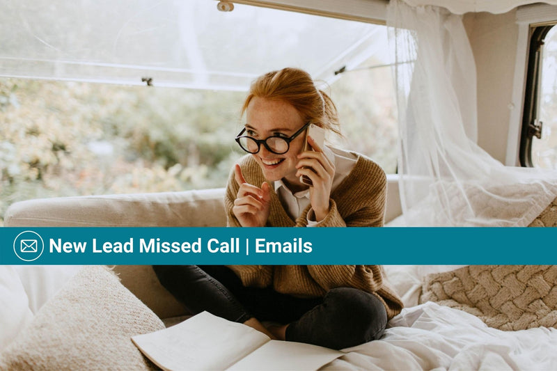 New Lead Missed Call | Basic Template | Email Template