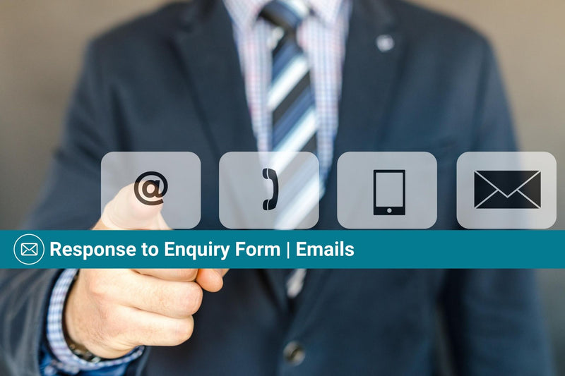 Response to Enquiry Form | Basic Template | Email Template