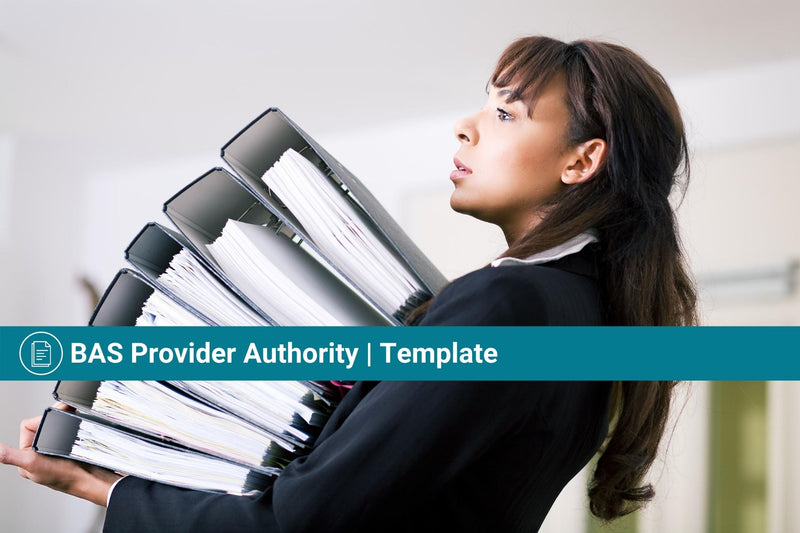 BAS Provider Authority (BASP) | Template | Authorisation to Act