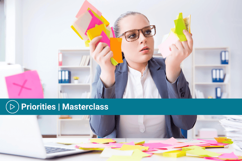 Priorities Masterclass | Masterclasses | Online Training & Worksheets