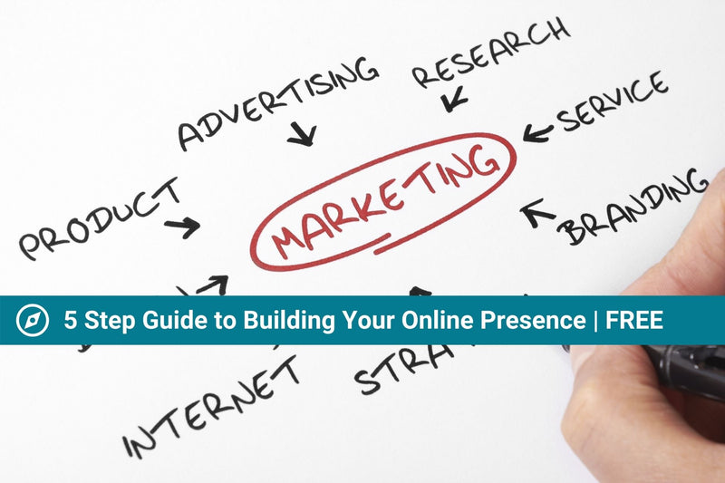 5 Step Guide to Creating Your Digital Presence | Free Resource | Marketing Guide