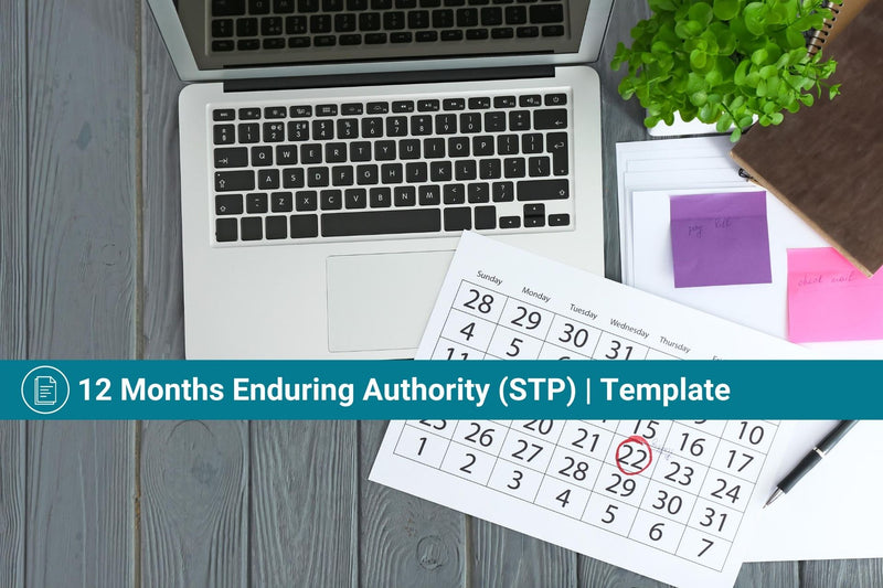 Single Touch Payroll Engagement Authority | 12 Month Enduring (STP) | Authorisation to Act