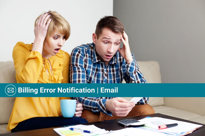 Billing Error Notification | Email Template