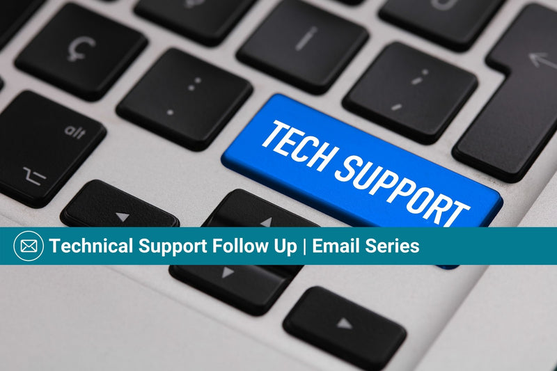 Technical Support Follow Up | Basic Template | Email Template