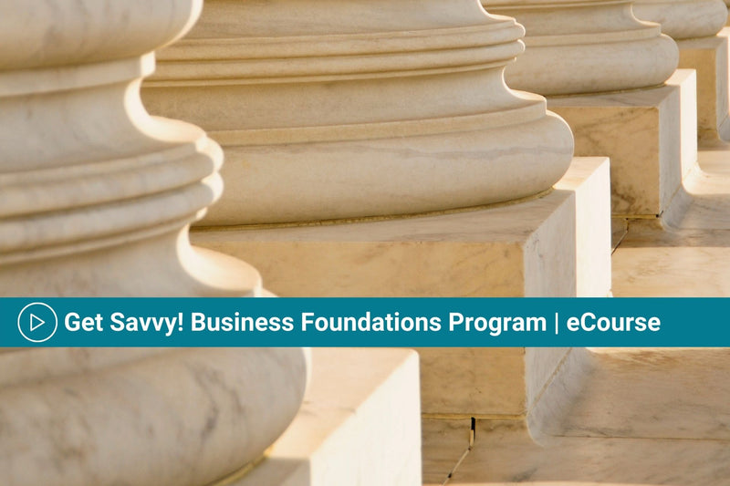 Get Savvy! Business Foundations Program | eCourse | Business & Marketing Plan