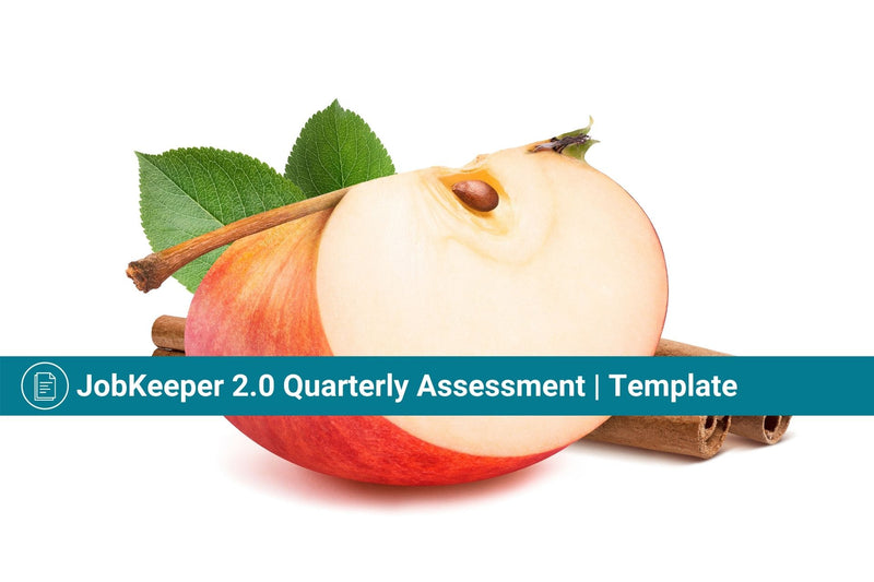 JobKeeper 2.0 Quarterly Assessment Declaration Template