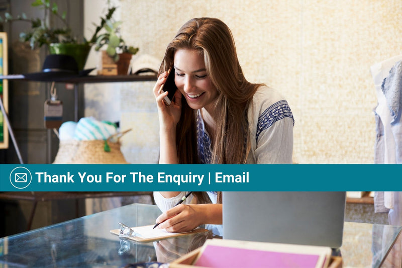 Thank You for the Enquiry | Basic Template | Email Template