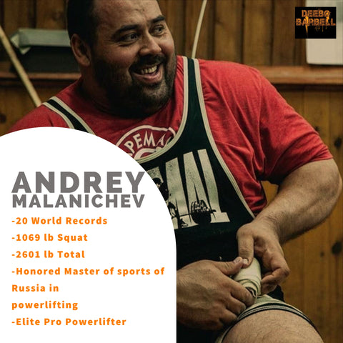 Andrey Malanichev Powerlifting Squat Bench Deadlift Seminar Clinic and Private Training Session Deebo Barbell Club Sayreville NJ