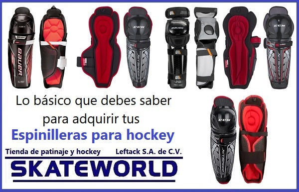 Guía para adquirir espinilleras de hockey (shin guards)