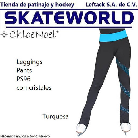 Leggings Pants ChloeNoel PS96 Turquesa de venta en Skateworld