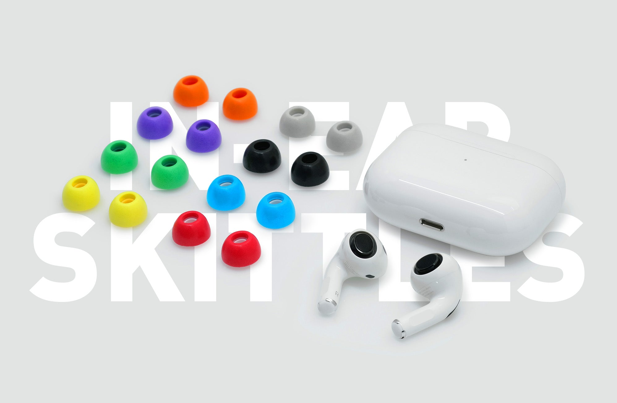 ADV. Eartune Fidelity UF-A AirPods Pro memory foam tips all colors
