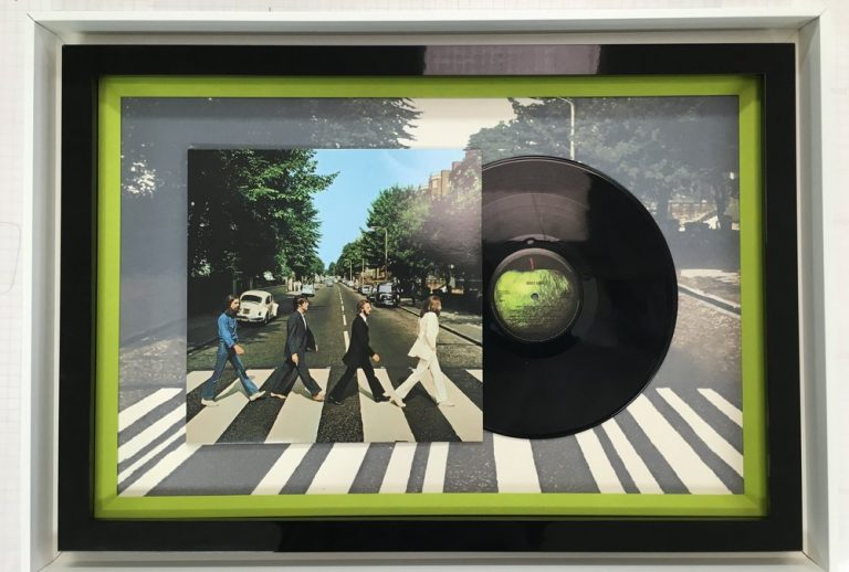 Beatles Framed Album