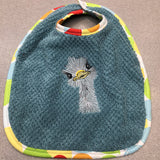 Bibs By Viv Emu Custom Embroidered Baby Bib