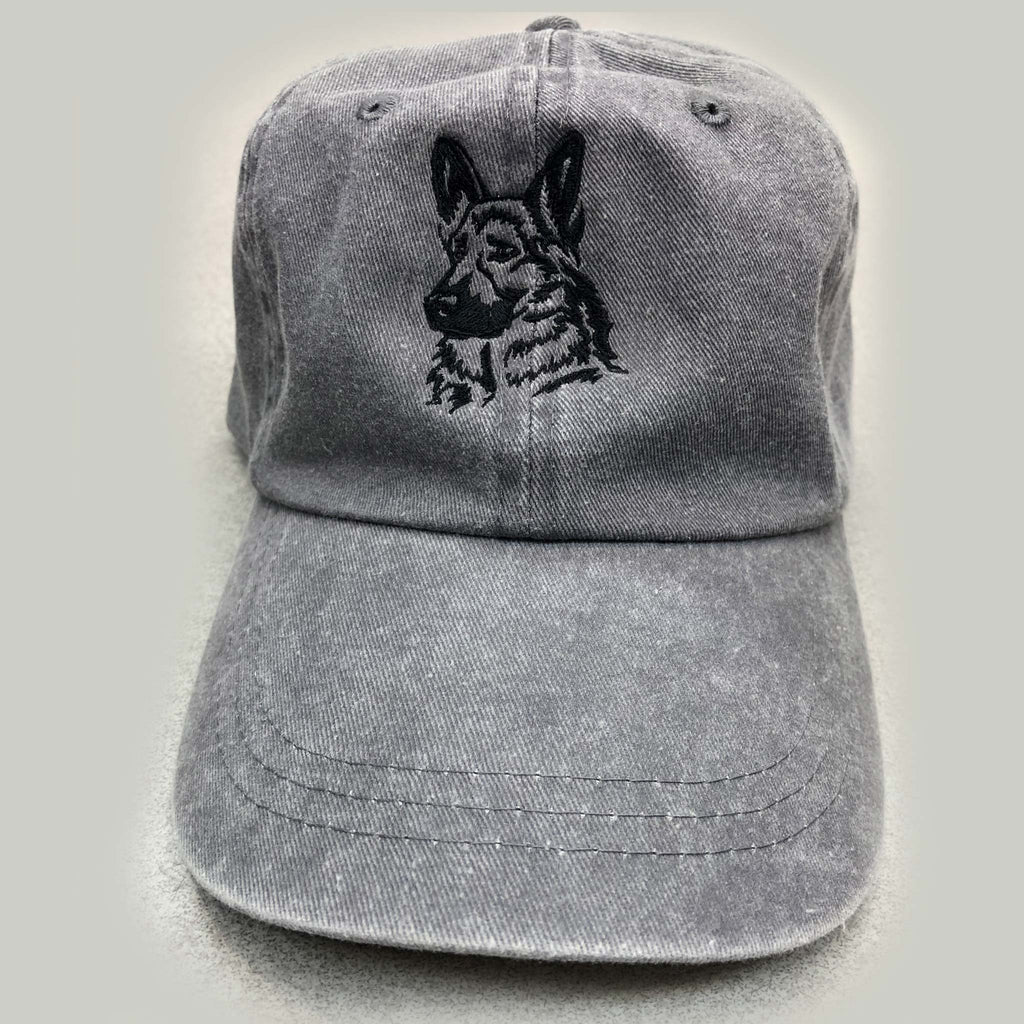 German Shepherd Custom Embroidered Hat