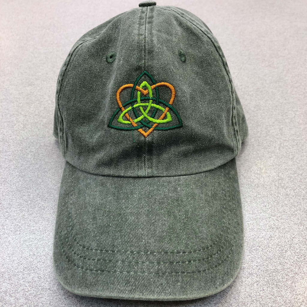 Heart & Flower Custom Embroidered Hat