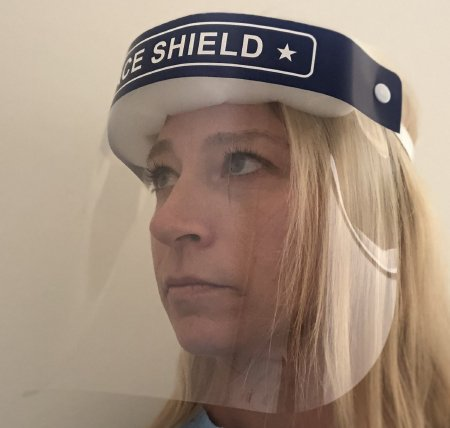 Copy of Face Shield One Size Fits Most Full Length Anti-fog Disposable NonSterile