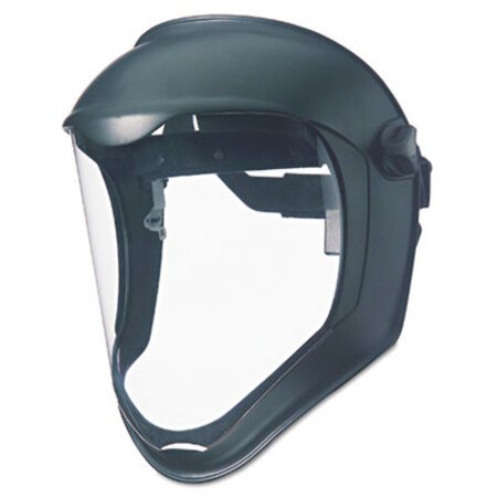 Bionic Face Shield, Matte Black Frame, Clear Lens