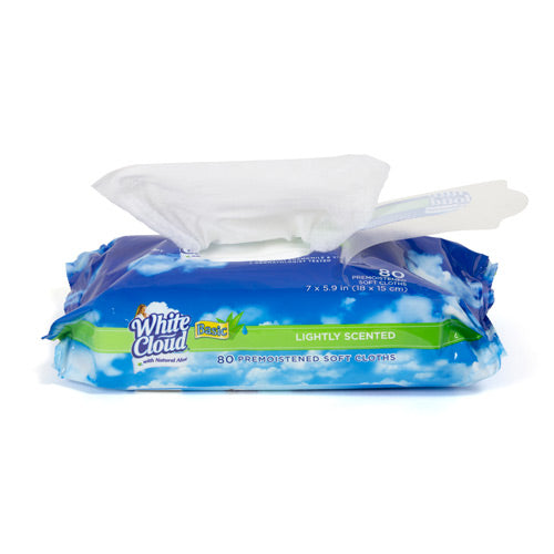 White Cloud® Basic Baby Wipes