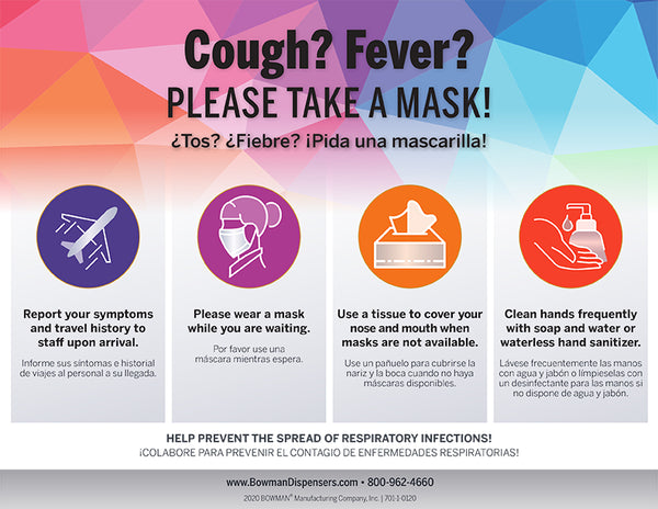 Free Cover Your Cough Signs