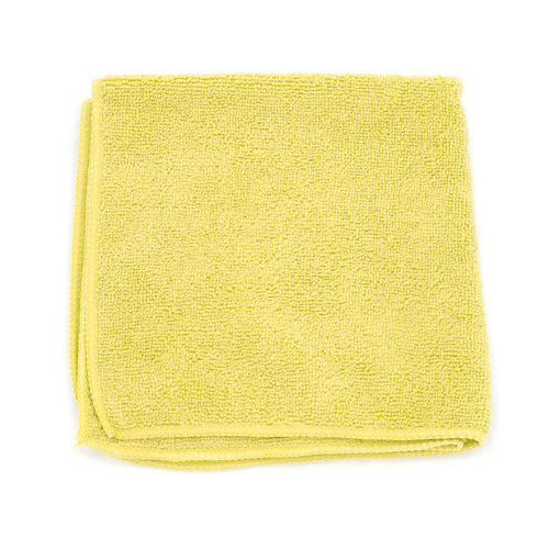 MicroWorks® Value Microfiber Towel 12 x 12, Pack of 1 dozen, Various Colors (2501)