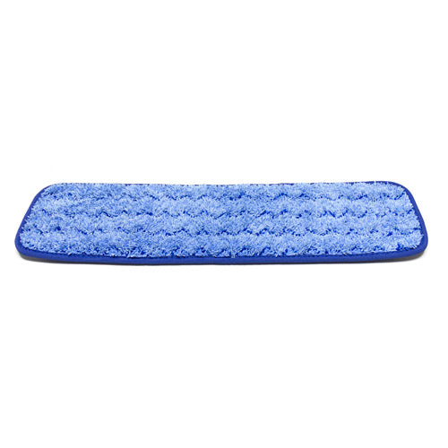 MicroWorks® Microfiber Scrubber Flat Mop With Velcro® Back (2504-MFFP-18BS)